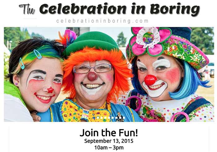 Celebration in Boring, September 13