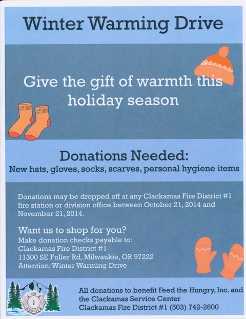 Winter Warming Drive