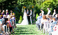 Summer Wedding at Camp Angelos