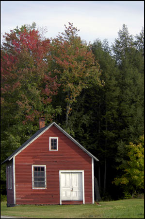 Autumn Color Collection - White Door