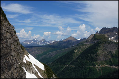 Glacier National Park Collection - Valley View