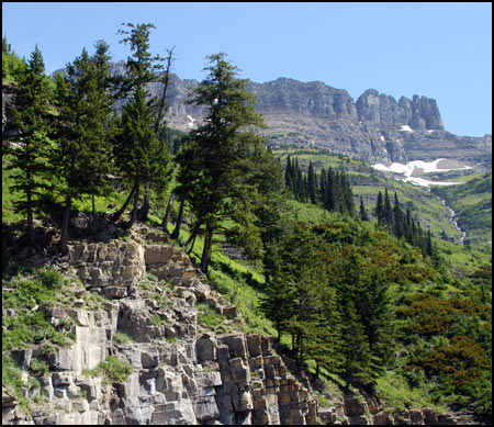 Glacier National Park Collection - Just Over the Ridge