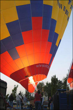 Hot Air Balloon Collection - Fill her up