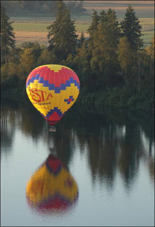 Hot Air Balloon Collection - Hope you can Swim