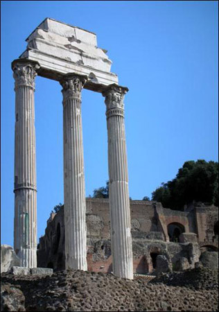 Rome Collection - Corinthian Columns Temple of Castor and Pollux