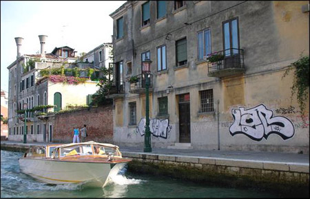 Venice Collection - Graffiti on the Canal