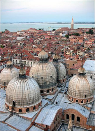 Venice Collection - Domes over Venice
