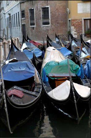 Venice Collection - Gondolas