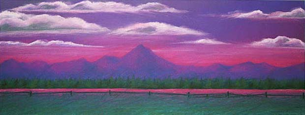 Purple Mountain Range