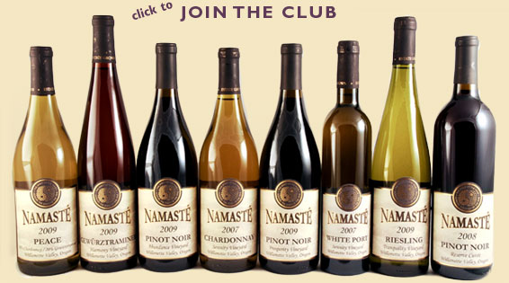 Sign up for our WINE CLUB