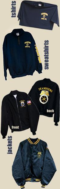 T-Shirts, Sweatshirts & Jackets