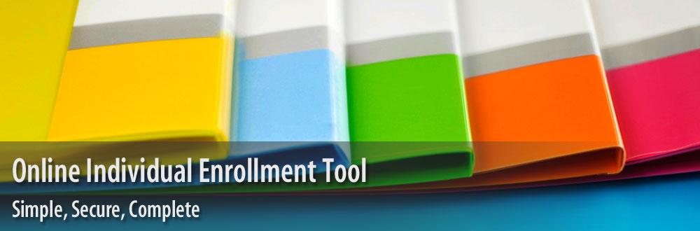 Online Individual Enrollment Tool